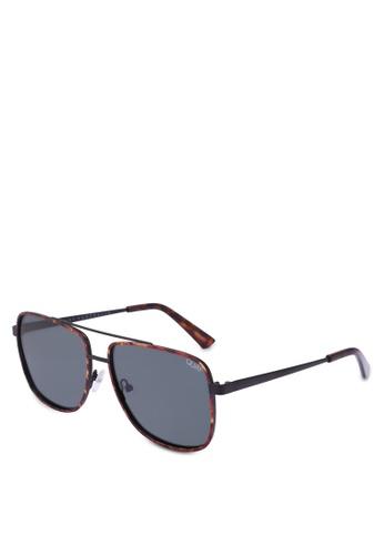1713ece8ba4a Quay Australia brown MODERN TIMES Sunglasses 11496GL734C70FGS 1