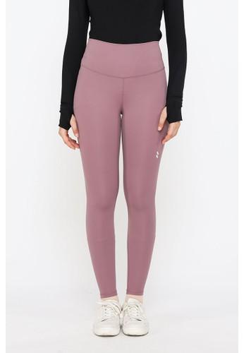 YUCCA MODEST High Waist Sport Legging Premium Celana Olahraga Wanita Mauve - Yucca Modest ABF6AAA6BBB983GS_1