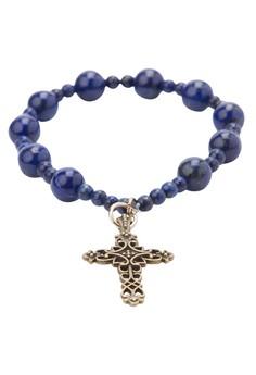 Birthstone Rosary Bracelet - Lapiz Lazuli