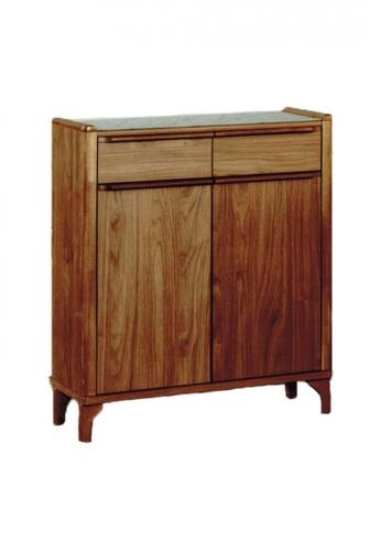 Choice Furniture brown Choice Furniture - Sherene Shoe Cabinet E6D39HL4AA16AEGS_1