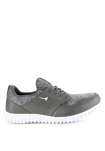 Ardiles grey Men Actron Running Shoes 0457ESH28F1B88GS_1