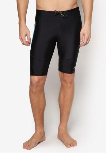 esprit outlet 桃園Bermuda 側色塊及膝泳褲, 服飾, 沙灘褲及泳裝短褲