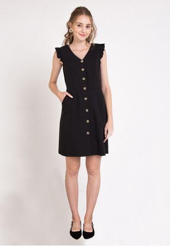 L'zzie black LZZIE ETIENNE DRESS - BLACK 08F54AAC0B8896GS_1