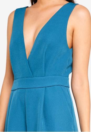 fea0c86cc4 Buy Miss Selfridge Plain Pinny Green Jumpsuit