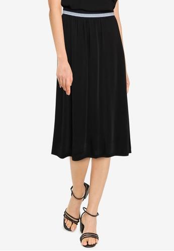 Noisy May black Festive Ankle Skirt D03DEAAA7EAEC0GS_1