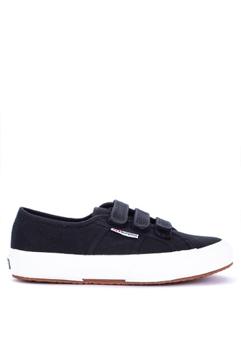 Superga black 2750-Cot3Strapu Sneakers B2D83SHE3B6BBCGS_1