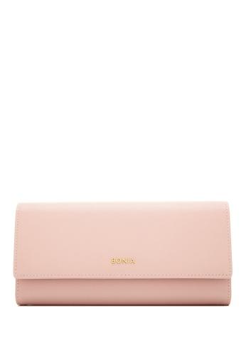 BONIA pink Blush Pink  Bikki Long 3 Fold B1711AC2D02BFAGS_1