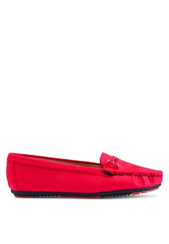 NOVENI red Noveni Loafers, Moccasins & Boat Shoes 95AA6SH7996008GS_1