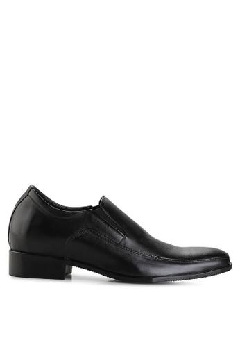 Keeve black Keeve Shoes Peninggi Badan Formal 097- Hitam E2E97SHD033FA9GS_1