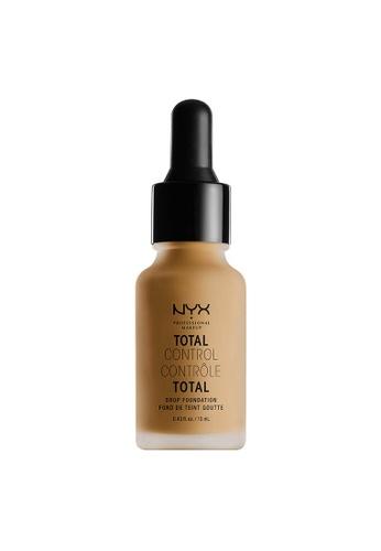 NYX Professional Makeup beige NYX Professional Makeup Total Control Drop Foundation - CARAMEL F1DA3BEAE32A93GS_1