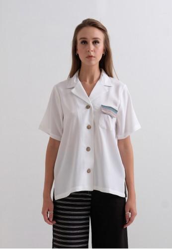 MaenKaen white Eve Shirt White 43CEDAA23F0BC7GS_1