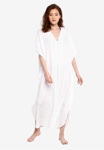 5d13ecdf44 Buy Malibu Beachwear Bodhi Long Kaftan Online   ZALORA Malaysia