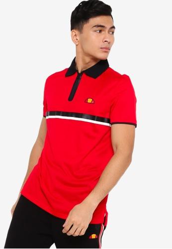 Ellesse red Serve Polo Shirt 247AAAA5F768D8GS_1