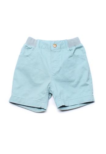 Mini Moley blue Classic Boy's Shorts 32AA1KA7DBA0E6GS_1