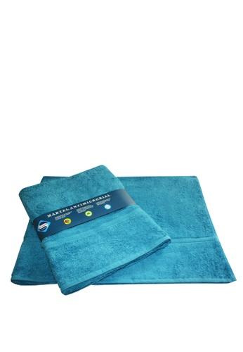 Martel blue Martel Sanitized Bath Towel 2571BHL77214C9GS_1