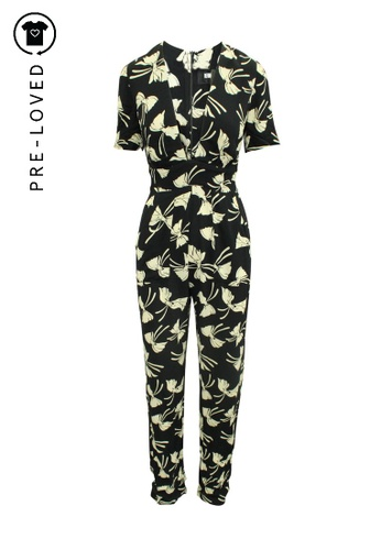Reformation black Pre-Loved reformation Black and White Printed Jumpsuit B5FAEAACC5D8BDGS_1