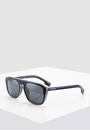 f0b39f59f57 Burberry black Burberry BE4286F Sunglasses 8FAB1GL778F0E9GS 1