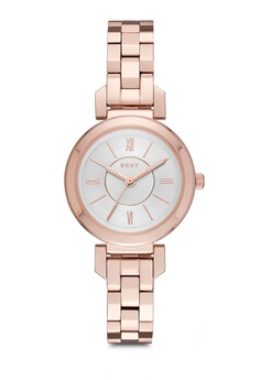 e815db11e31 DKNY gold Ellington Rose Gold Watch NY2592 DK097AC0RTHSMY 1
