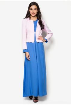 Ladies Jubah Modern with Jacket