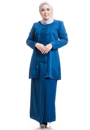 Ashura blue Eritha Kebaya Kutu Baru F6C60AA6495EE6GS_1