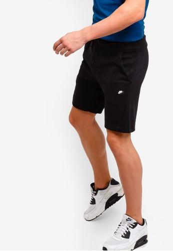 Nike black As M Nsw Optic Shorts 4250AAA9E397A9GS_1