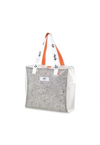 PUMA white PUMA x MR. DOODLE Unisex Shopper Bag 378DAACD0A10CBGS_1