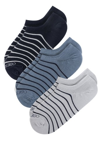 Obermain blue and grey and navy Thin Stripe 61132AA66675AEGS_1