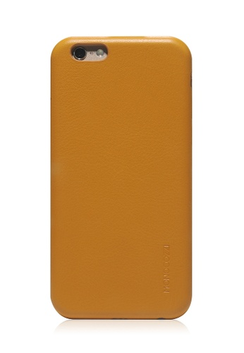 Monocozzi yellow Posh Soft Leather Shell Case For iPhone 6 Plus MO983AC89BWCHK_1