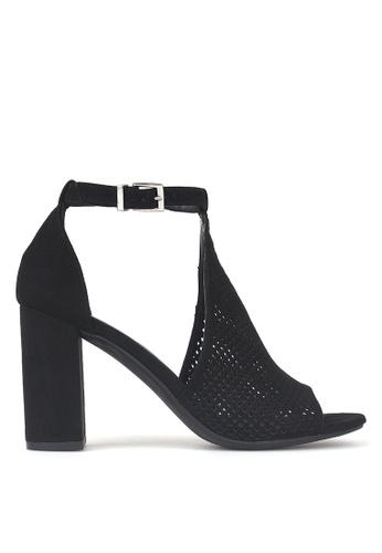 Betts black Eezy Block Heel Shoe Booties 6901FSH6E29974GS_1