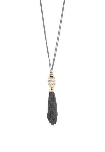 Pisa 水晶墜飾流esprit門市地址蘇項鍊, 飾品配件, 項鍊