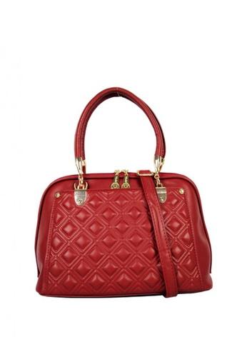 Kimbel International red BCA886913 Handbag with Sling F0C3CACA329908GS_1