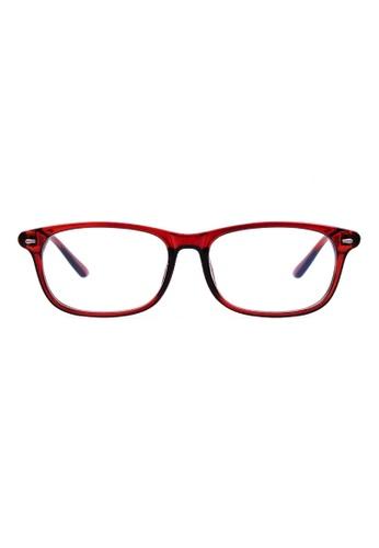 Kyfer's Eyewear & Essentials black Classy Daily Reading Glasses KY376AC57RXISG_1
