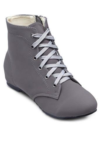 esprit香港門市Jam 繫帶低筒靴, 女鞋, 鞋