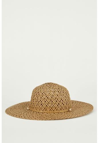 DeFacto brown Straw Hat A3E2DAC54F71E3GS_1