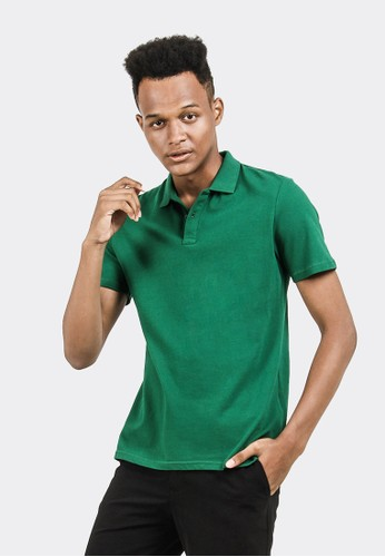 Celciusmen green Kaos Polo BAsic Celcius B3159C BF5F3AAB2533CFGS_1