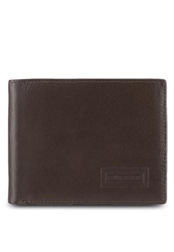 Lumberjacks brown Lumberjacks Genuine Leather Bi-Fold Wallet LU545AC0SMDHMY_1