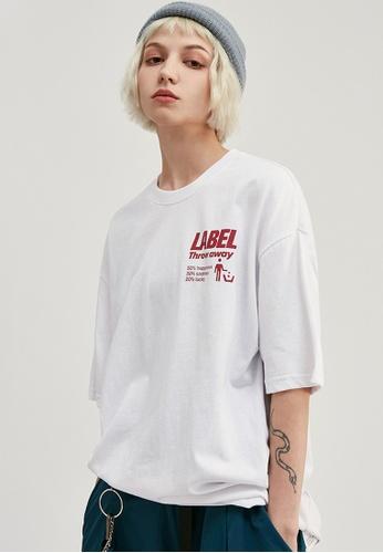 Twenty Eight Shoes Trend Printed Short T-Shirt 1089S20 71080AAA58123BGS_1