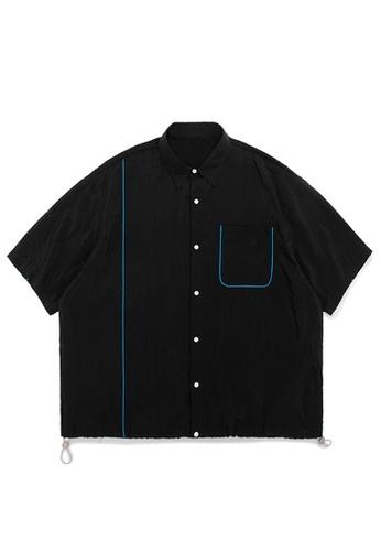 Twenty Eight Shoes Loose Fluorescent Edge Tooling Shirt 2007S20 2B3FBAA6898904GS_1