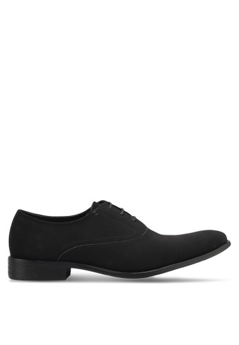 harga Faux Suede Leather Oxford Shoes Zalora.co.id