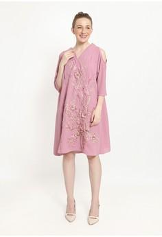 Chantilly pink Chantilly Maternity Nursing Dress 53048BL PK  2CEC8AAE8D59ACGS 1 fa92988141