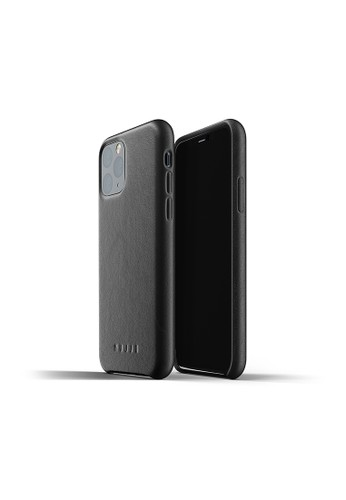 Mujjo black Mujjo Full leather case for iPhone 11 Pro Black 6755CAC9089168GS_1