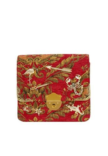 My Flash Trash red Charms Baroque Boxy Bag F56B8ACFC6B3BCGS_1