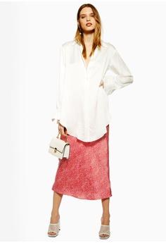 eafa102be8 30% OFF TOPSHOP Spot Animal Bias Midi Skirt S$ 79.90 NOW S$ 55.90 Sizes 4 8  10