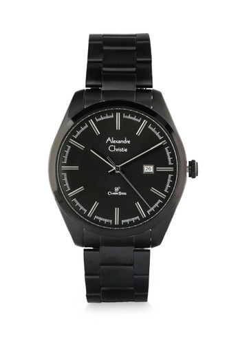 Alexandre Christie black Alexandre Christie Jam Tangan Wanita - Black - Stainless Steel - 8560 LDBIPBA 7BC28AC5DC7A94GS_1