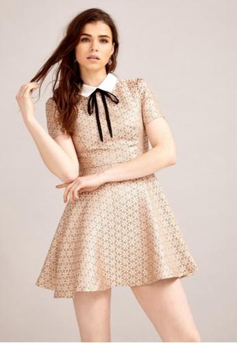 緹花領結洋裝, 服飾,esprit taiwan 派對洋裝