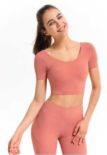 HAPPY FRIDAYS Women's Yoga Short Sleeve Tees DSG17 69D62AA974A05BGS_1