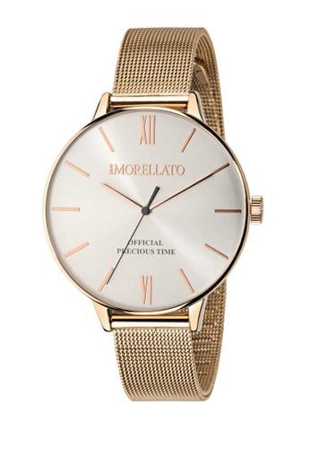 Morellato gold Ninfa Quartz Watch R0153141520 Rose Gold Metal Strap C6728AC67EB105GS_1