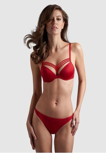 marlies I dekkers red Dame De Paris Thong 2cm 699CFUS15F2BD4GS_1
