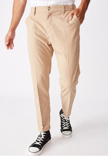 Cotton On beige Oxford Trouser 524C2AACBBC0F1GS_1