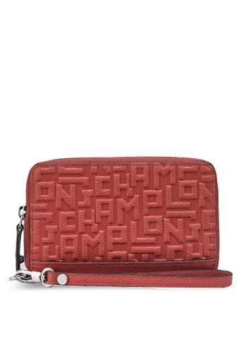 LONGCHAMP brown La Voyageuse LGP Compact Wallet (zt) 93857AC5DE92D9GS_1